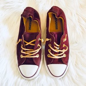 Converse Maroon Shoes